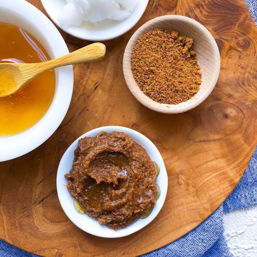 Honey Rose Coconut Sugar Lip Scrub