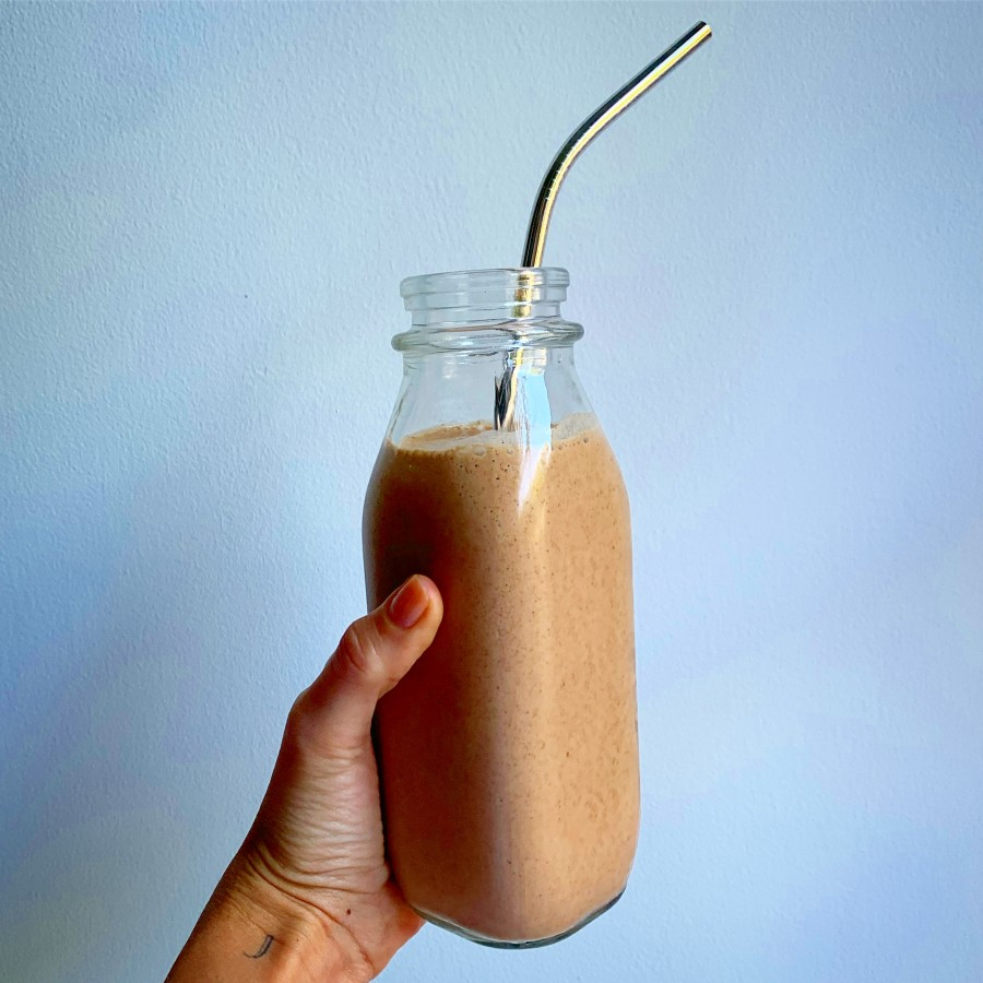 Salted Chocolate Collagen Smoothie