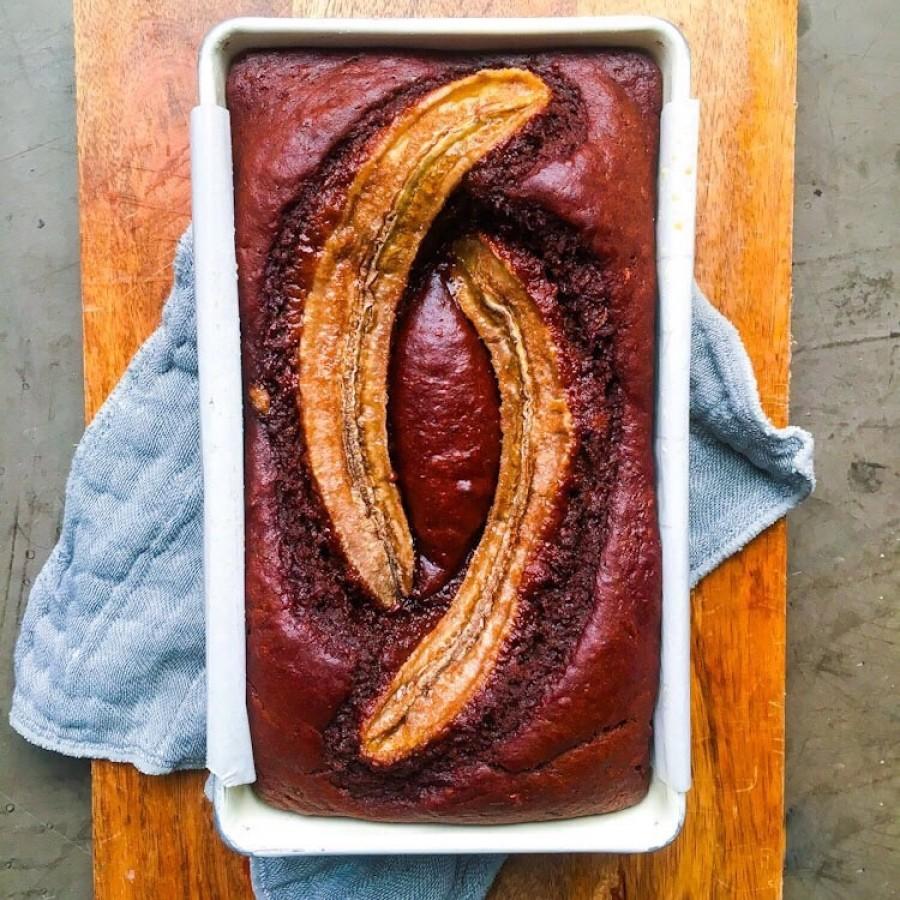 Cacao Banana Bread