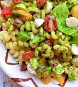 Caprese Pasta Salad with Creamy Pesto