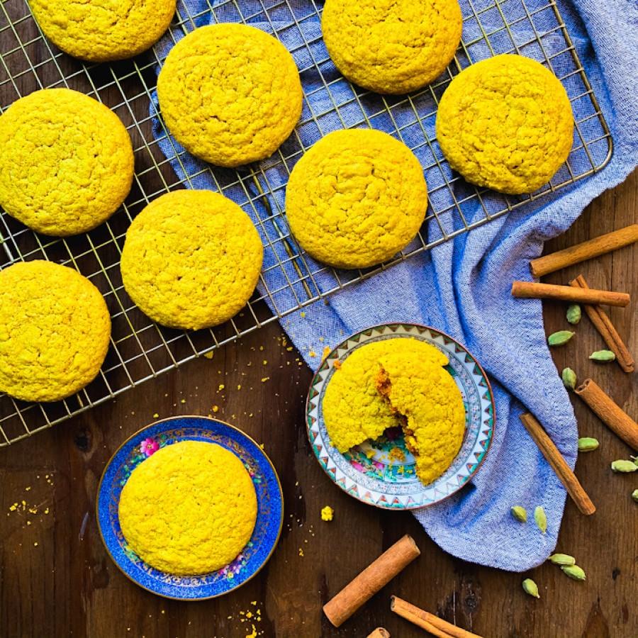 Gluten-Free Golden Milk Cookies