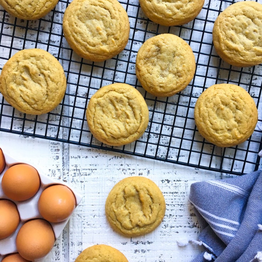 Brown Butter Vanilla Bean Sugar Cookies