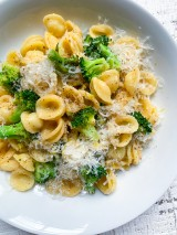 Brown Butter, Lemon and Broccoli Pasta