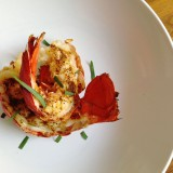 Lobster Tails with Chili Lime Butter