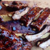 Baby Back Ribs with Sweet and Spicy Sauce