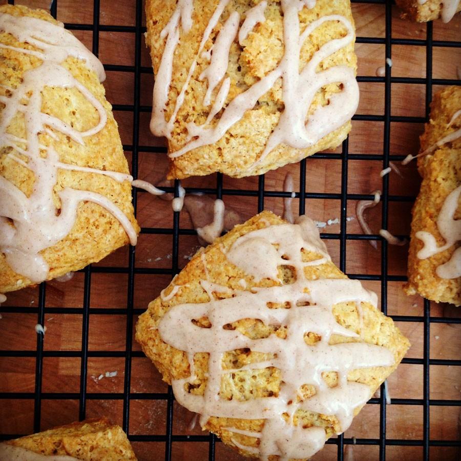 Cinnamon Cream Scones
