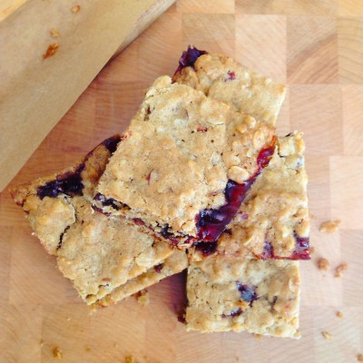 Raspberry, Chocolate and Pecan Oat Bars
