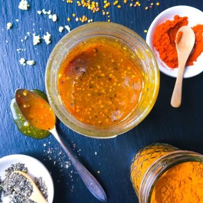 Ginger Turmeric Honey Bomb