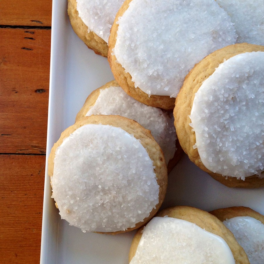 Fluffy and Chewy Sugar Cookies