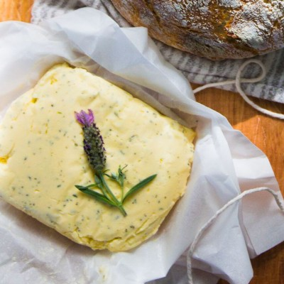 Cultured Lavender Butter