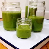 Greens, Apple and Banana Smoothie