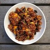 Butternut Squash, Black Bean and Quinoa Salad