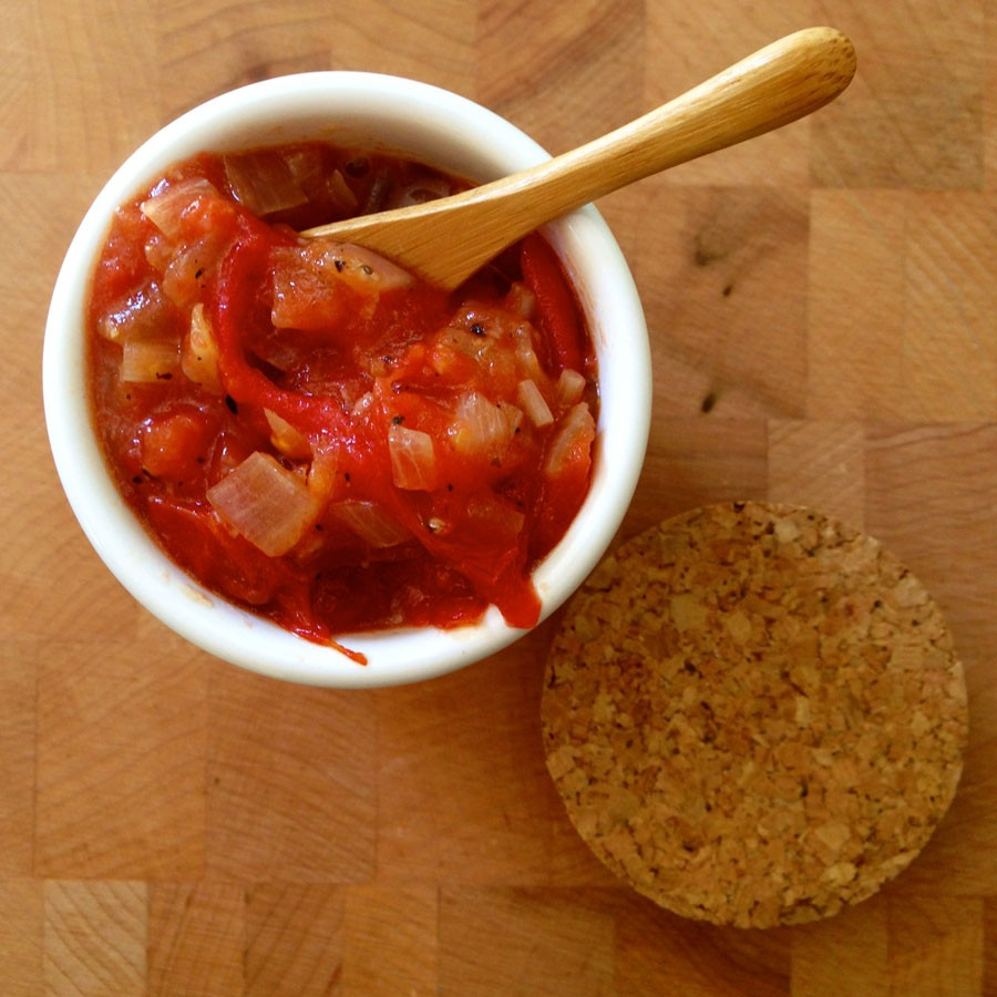 Grilled Tomato Jam