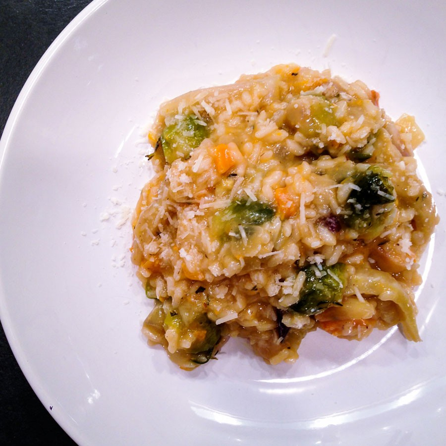 Roasted Root Vegetable Risotto