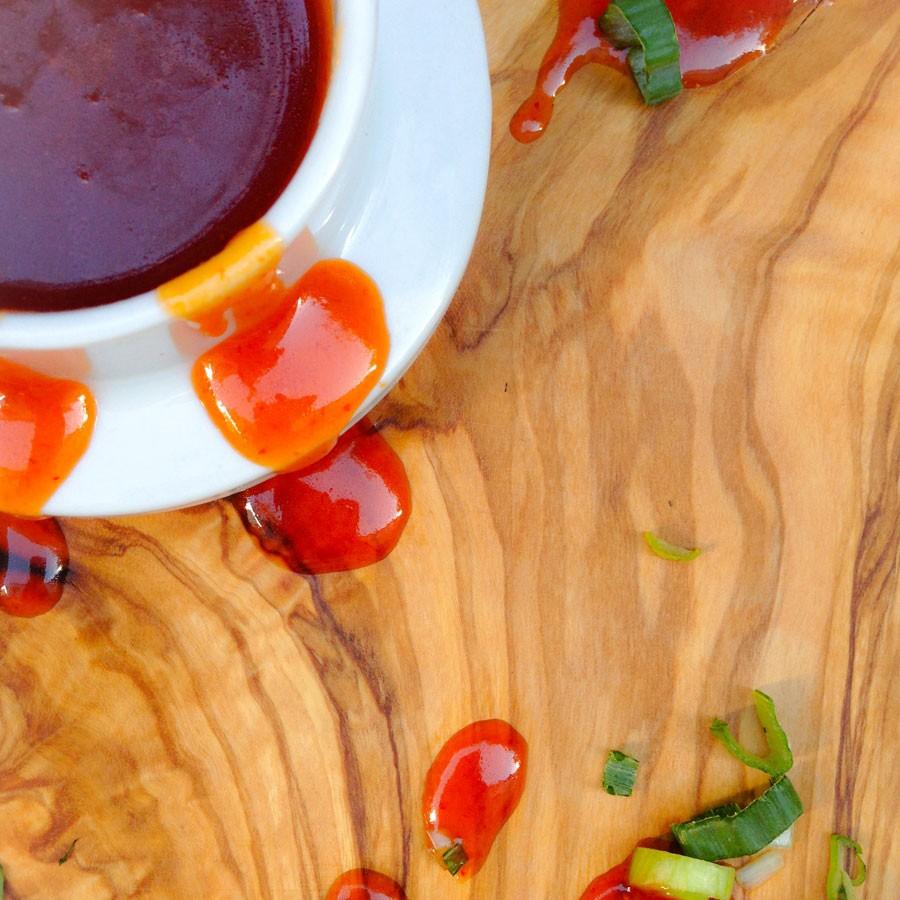 Sriracha Chicken Sliders