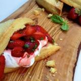 Strawberry Basil Shortcakes