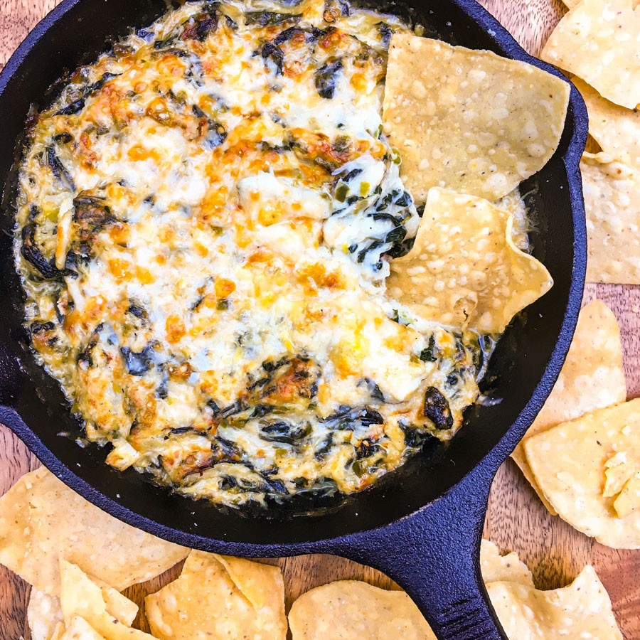 Spicy Crab and Kale Dip