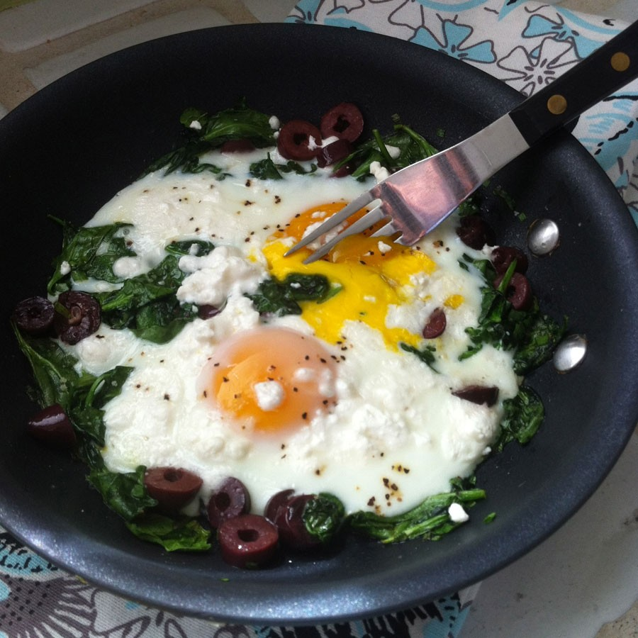 Greek Style Eggs