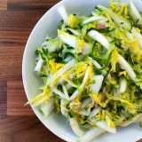 Spicy Cucumber and Cabbage Slaw