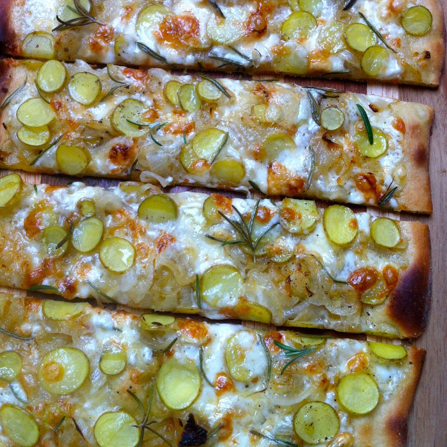 Potato and Rosemary Flatbread