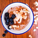 Almond Milk Oatmeal with Date