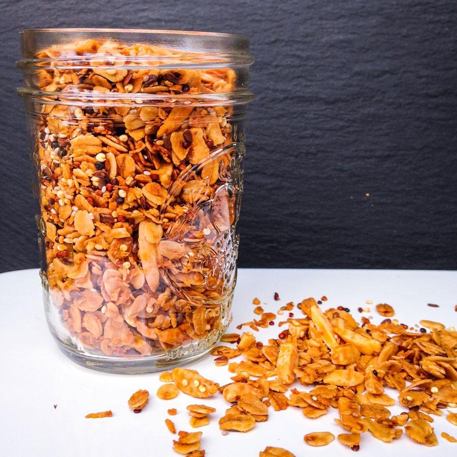 Quinoa, Chia Seed and Oat Granola
