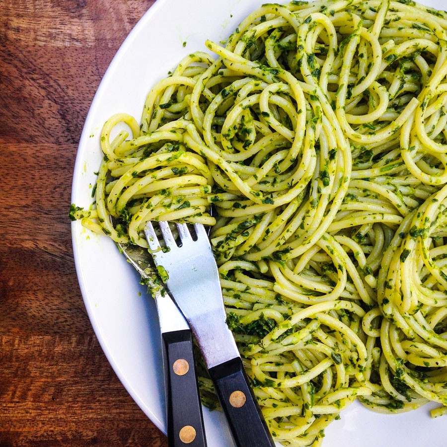 Lemon and Herb Spaghetti