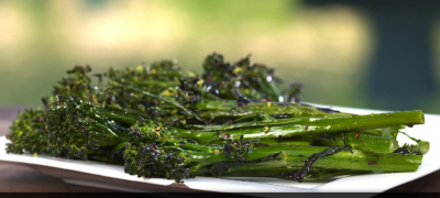 Grilled Spicy Broccolini