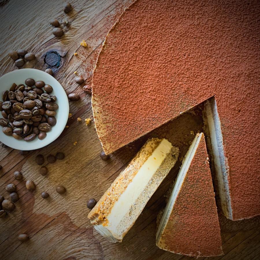 Vegan Coffee Cheesecake