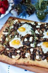 Mixed Mushroom and Thyme Flatbread